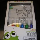 WORDWORLD OUTSIDE YOUR WINDOW WORD CLINGS - EDUCATIONAL & CREATIVE - BRAND NEW!