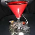 MARTINI LAMP COMPLETE WITH OLIVE & PIMENTO!