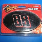 NASCAR #88 DALE EARNHARDT, JR. TRAILER HITCH COVER by WINNER'S CIRCLE - BRAND NEW!