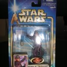 STAR WARS ATTACK OF THE CLONES ZAM WESELL BOUNTY HUNTER ACTION FIGURE by HASBRO-NEW!