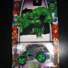 Marvel Heroes 1:64 Scale The Incredible Hulk Green & Purple Die Cast Car MGA Ent H25 by Marvel-NEW!