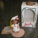 "ANNALEE 3"" GRADUATE DAY GIRL MOUSE 1988 - BRAND NEW IN BOX!"