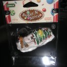 """LEMAX SUGAR 'N SPICE GINGERBREAD VILLAGE ACCESSORY - """"FREE RIDE"""" - #42850 - BRAND NEW IN PACKAGING!"""
