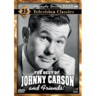 THE BEST OF JOHNNY CARSON AND FRIENDS 4 DVD SET - BRAND NEW!