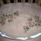 "VINTAGE PILKINGTON CHANCE GLASS ""BLOSSOM"" OBLONG SERVING DISH - BRAND NEW!"