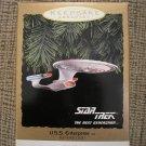 STAR TREK THE NEXT GENERATION U.S.S. ENTERPRISE 1993 HALLMARK KEEPSAKE ORNAMENT QLX7412 - NEW!