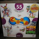 ZOOB THE MOVING MIND-BUILDING MODELING SYSTEM - 55 PIECE SET - BRAND NEW!