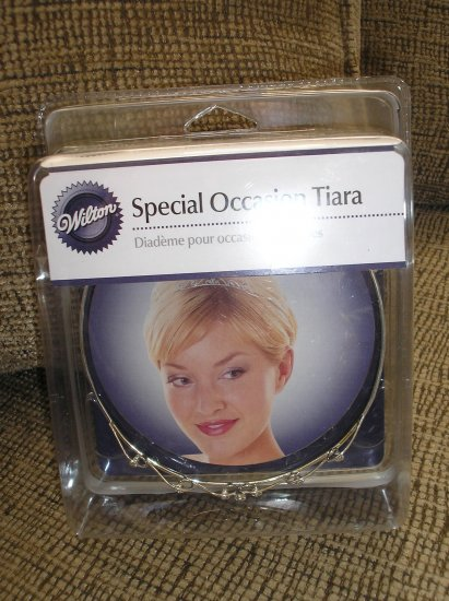 WILTON SPECIAL OCCATION RHINESTONE TIARA DIADEME - BRAND NEW!