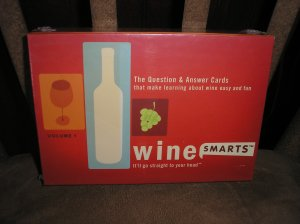 WineSmarts, Vol. 1-The Question & Answer Cards that make learning about wine easy & fun - BRAND NEW!