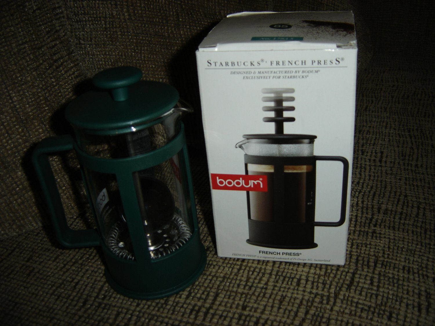 Starbucks Press Coffee Maker : STARBUCKS BODUM 3 CUP NO. 1783 S FRENCH PRESS COFFEE MAKER - BRAND NEW!