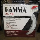 GAMMA XL 16 GAUGE RACQUET STRING - 40 FEET - WHITE - BRAND NEW!