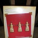HALLMARK KEEPSAKE ORNAMENTS-ANGELS OF VIRTUE 2003 Hallmark Ornaments-Set of 3-by Hallmark-NEW!