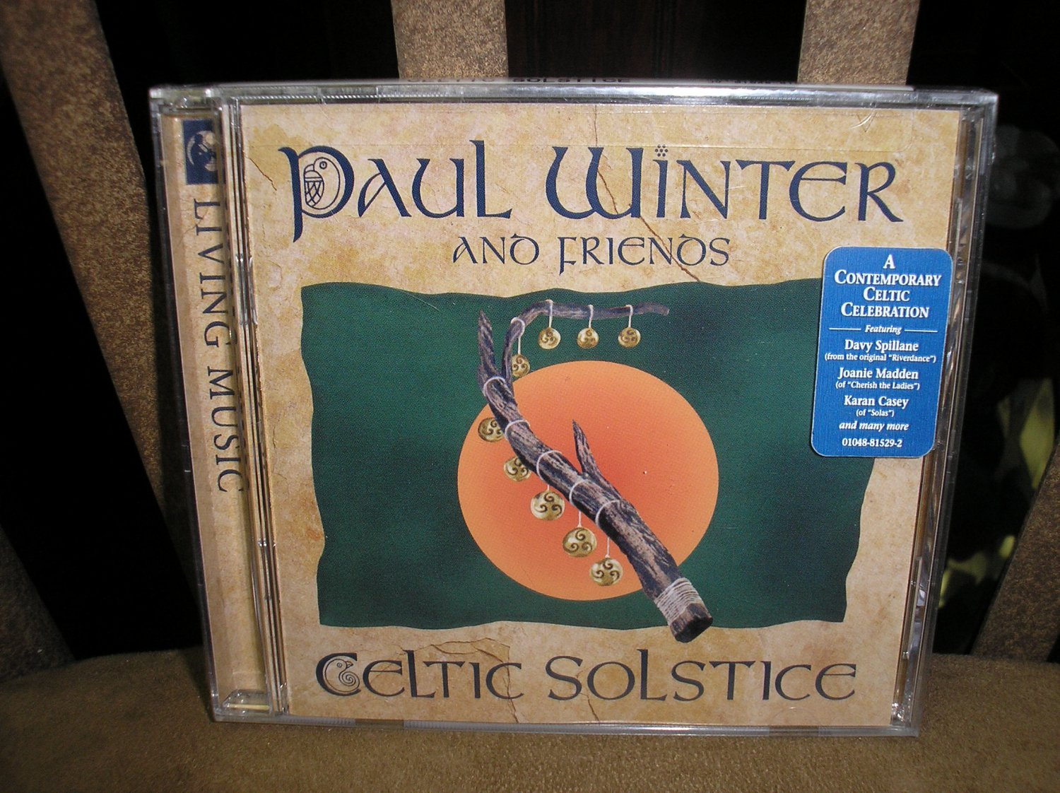 CELTIC SOLSTICE by PAUL WINTER and FRIENDS CD - BRAND NEW in SHRINKWRAP - HAUNTINGLY BEAUTIFUL!