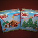 "FOAMIES VERY MERRY 3D FOAM CRAFT KITS-SET OF 2-""NATIVITY"" AND ""TREES"" for CHRISTMAS FUN-BRAND NEW!"