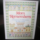 MOM REMEMBERS: A TREASURY OF MEMORIES FOR MY CHILD by Judith Levy - BRAND NEW!