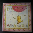 "POP SHOTS-WINNIE THE POOH-""POOH GETS A PRESENT""-POP-UP BIRTHDAY CARD with ENVELOPE-BRAND NEW!"