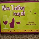 WINE TASTING PARTY KIT by C. R. Gibson - BRAND NEW!