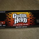 PLAYSTATION 2 GUITAR HERO and GUITAR CONTROLLER Model # PSLGH-W - NEW IN BOX!