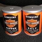 HARLEY DAVIDSON OIL CAN SALT AND PEPPER SET-OFFICIAL LICENSED PRODUCT-by VANDOR-BRAND NEW in BOX!
