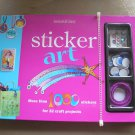 STICKER ART (With Stickers,Rhinestones,Googly Eyes,Nail Decals,Etc.) by American Girl - BRAND NEW!