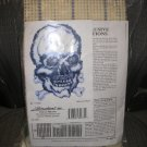 HERRSCHNERS SKULL WALLHANGING - EXCLUSIVE LATCH HOOK CREATION KIT from 1999 - BRAND NEW!