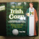 "SPENCER'S EXCLUSIVE ""GET LUCKY - OFFICIAL IRISH DRINKING TEAM"" COZY FLEECE BLANKET W/ SLEEVES - NEW!"