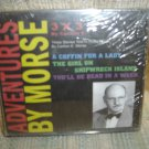 ADVENTURES BY MORSE  3 x 3 by Cartlon E. - The 3 X 3 episode stories  - NEW IN SHRINKWRAP!