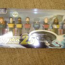 STAR TREK NEXT GENERATION 25th ANNIVERSARY LIMITED EDITION COLLECTIBLE PEZ SET by PEZ Candy - NEW!