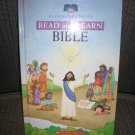 READ and LEARN BIBLE (SCHOLASTIC) – HARDCOVER (2005) by American Bible Society, Eva Moore!