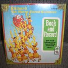 RICHARD the SHARP-EARED REINDEER - (45 Rpm and Book) PETER PAN RECORDS!