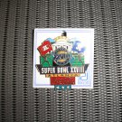 SUPER BOWL 28 XXVIII NFL FOOTBALL PIN ATLANTA COCA-COLA!