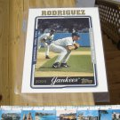 TOPPS ALEX RODRIGUEZ NEW YORK YANKEES 8x10 JUMBO BASEBALL PHOTO CARD in ULTRA-PRO PROTECTOR!
