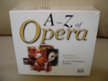 A - Z of Opera Audio CD that includes a 762 page booklet - OVER 150 MINUTES OF MUSIC!