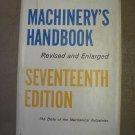 Machinery's Handbook - 17th edition [Imitation Leather] book by Erik Oberg & F.D. Jones!
