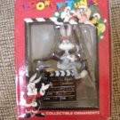 "LOONEY TUNES BUGS BUNNY ""DIRECTING CARTOON"" WARNER BROS. LICENSED OFFICIAL ORNAMENT from 1996!"