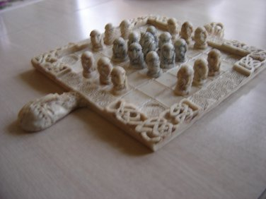 CELTIC CHESS SET by STUDIO O'GAMHNA - HANDMADE IN IRELAND!