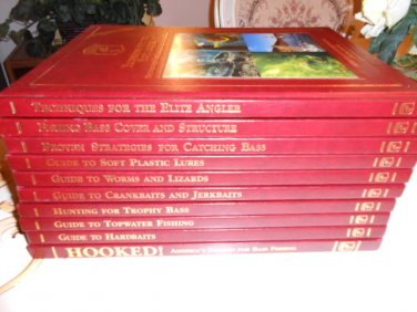 ULTIMATE BASS FISHING LIBRARY - 10 HARDCOVER BOOK SET by Dave Precht (Editor), James Hall (Editor)!