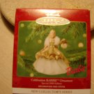 "HALLMARK KEEPSAKE ""CELEBRATION"" BARBIE DOLL - COLLECTOR'S SERIES 2000 ORNAMENT - NIB!"