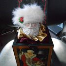 ENESCO 1990 SANTA LIVING LEGENDS GRANDFATHER FROST from RUSSIA MUSICAL JACK-IN-THE-BOX Ltd Ed!