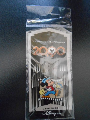 "Disney's""Countdown to the Millennium 2000""Collectors Pin""Simple Things 1953"" featuring Mickey Mouse!"