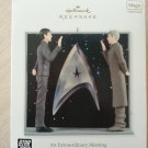 "Hallmark Star Trek ""An Extraordinary Meeting"" Ornament from 2012-LISTEN TO DIALOGUE FROM THIS SCENE!"