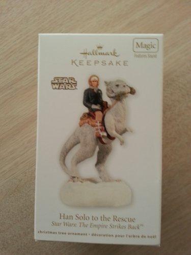 "Hallmark Star Wars: The Empire Strikes Back ""Han Solo to the Rescue"" Ornament from 2012!"
