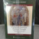 Cycles of American Political Thought (The Great Courses) Multimedia DVD Set of 36 Lectures!