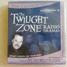 The Twilight Zone Radio Dramas Collection 2 - 4 HOURS on 5 CD's - HOSTED by STACY KEACH!
