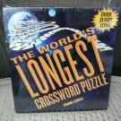 The World's Longest Crossword Puzzle Book by Frank Longo - 2,439 answers!
