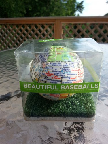 "The Original ""NEW YORK"" Beautiful Baseball Handmade by Bergino!"