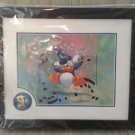 Disney Mickey's Philharmagic Lithograph & Pin of Donald Duck with COA - FRAMED!