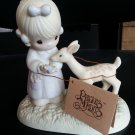 Enesco Precious Moments - To My Deer Friend #100048 with Tree Stamp!