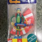 "Bendos Action Figures with a Twist ""Soaker Bob with Inflatable Tube"" by Kid Galaxy!!"