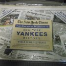 New York Yankees Greatest Moments Newspaper - 2009 by The New York Times!